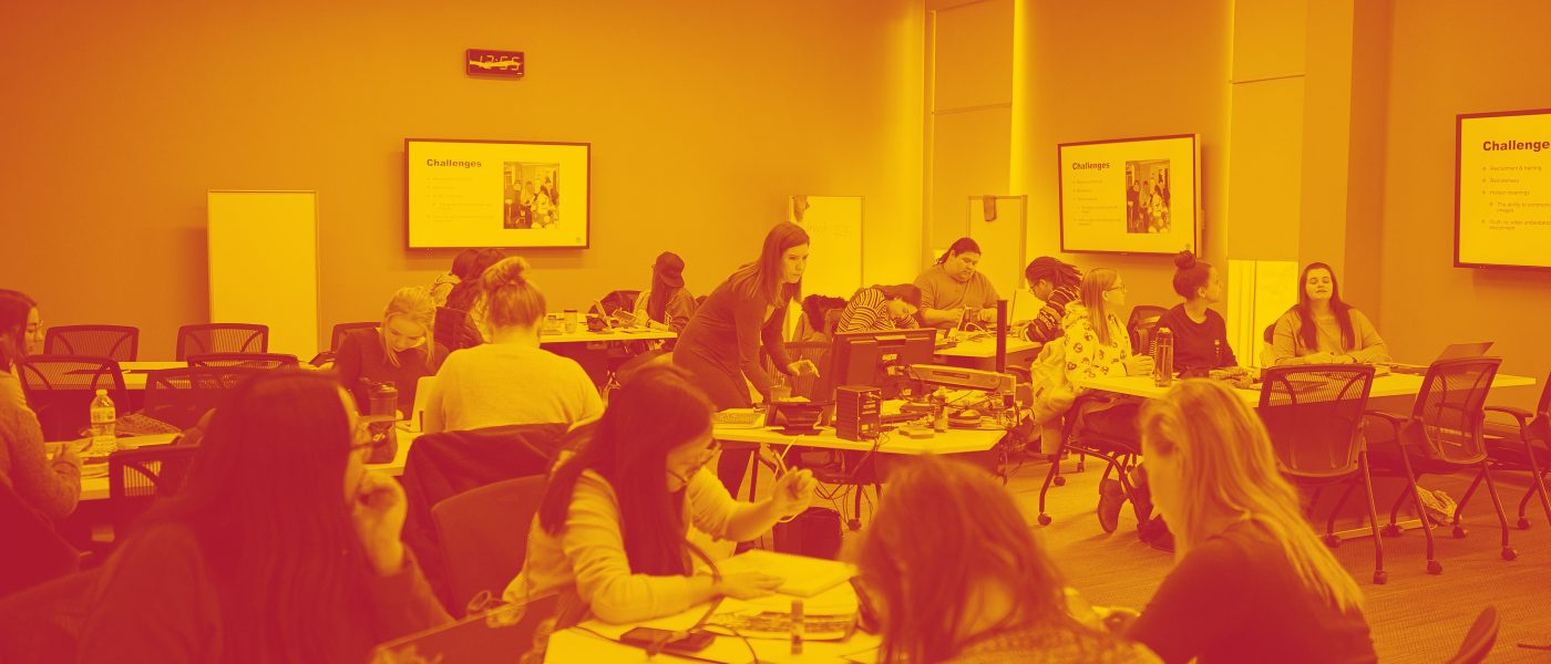 Classroom shot of Indigenous Workshop
