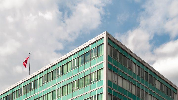 Canadian Government Building external shot
